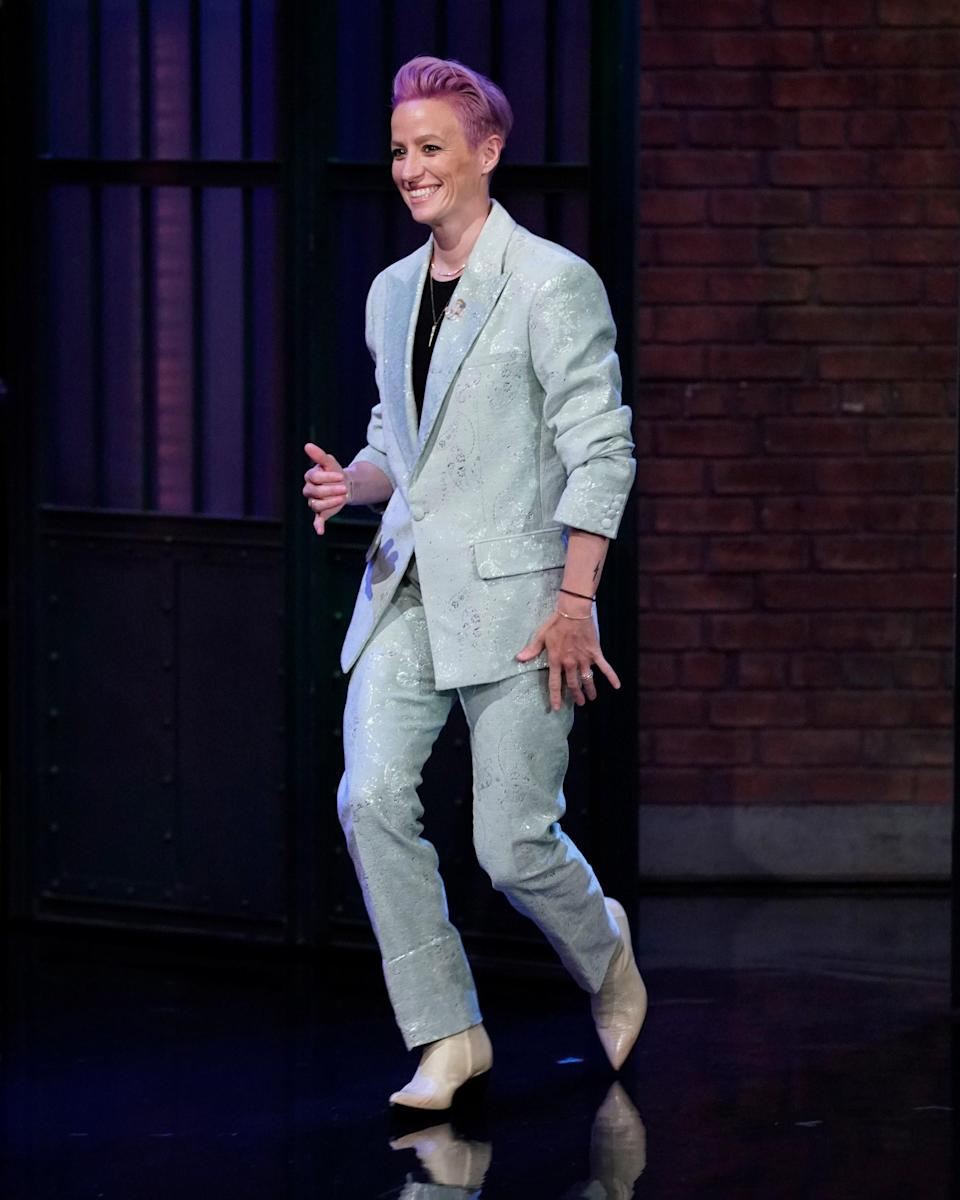 """<h1 class=""""title"""">July 16: Megan Rapinoe</h1> <div class=""""caption""""> Megan Rapinoe has this whole victory tour thing nailed. </div> <cite class=""""credit"""">Getty Images</cite>"""