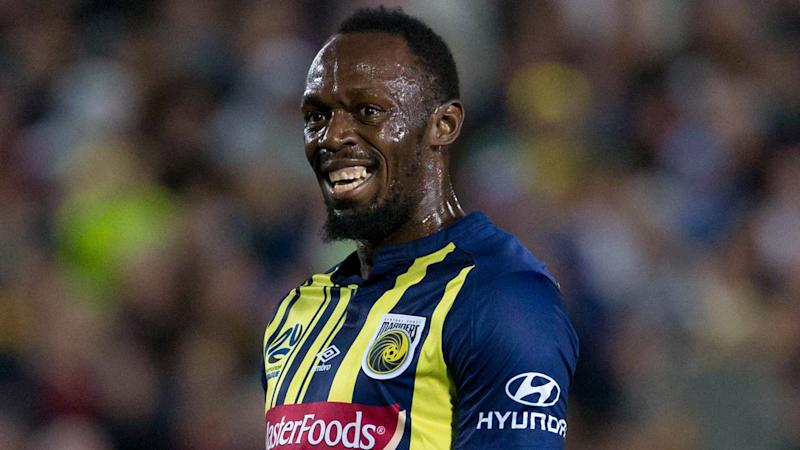 Bolt taking inspiration from Ronaldo after debut