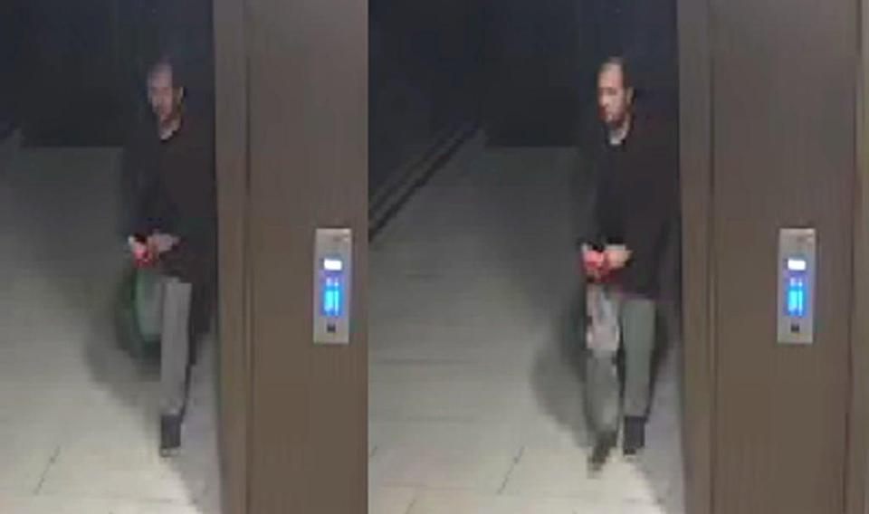 Police are urgently seeking this man as part of the investigation into the murder of Sabina Nessa (PA Media)
