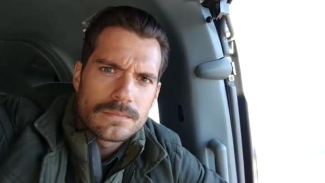 Image result for henry cavill mustache selfie