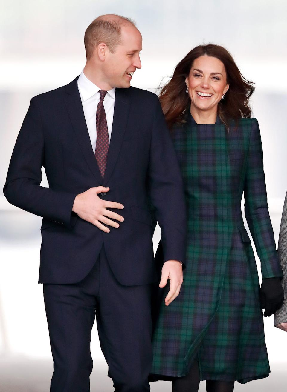 Kate and William Scotland