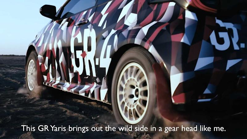 Toyota Yaris GR-4 Teaser Video