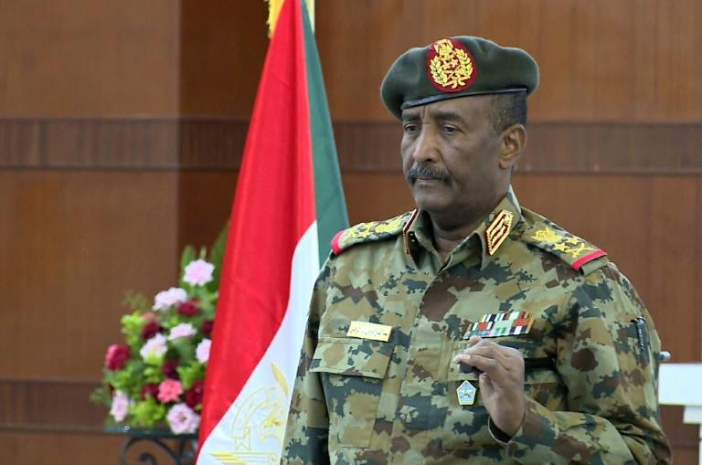 The chairman of Sudan's new civilian-majority sovereign council, General Abdel Fattah al-Burhan, will be head of state for 21 months until he makes way for a civilian (AFP Photo/-)