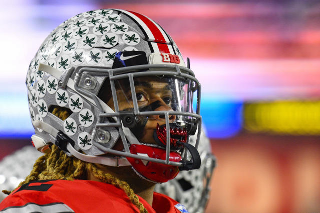 Ohio State Buckeyes defensive end Chase Young is a true difference maker up front. (Photo by Brian Rothmuller/Icon Sportswire via Getty Images)