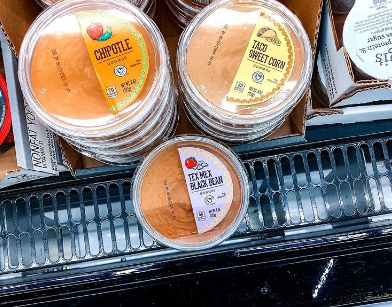 "<p>Hummus on its own is pretty tasty, but Aldi isn't resting on its laurels. Its clever varieties include Chipotle, Taco Sweet Corn, and Tex Mex Black Bean are unique enough to get <a href=""https://www.instagram.com/aldi.mademedoit/"" rel=""nofollow noopener"" target=""_blank"" data-ylk=""slk:shoppers"" class=""link rapid-noclick-resp"">shoppers</a> <a href=""https://www.instagram.com/p/B_aa4tTB8-B/"" rel=""nofollow noopener"" target=""_blank"" data-ylk=""slk:talking and snacking"" class=""link rapid-noclick-resp"">talking and snacking</a>. This is healthy eating with serious flavor. </p>"