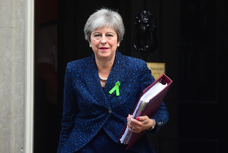 "Prime Minister Theresa May as she left 10 Downing Street, London on Wednesday. Her ""inner Cabinet"" are said to be united behind her on Brexit, while rumours circulate of ministers resigning if she submits to EU negotiators: PA Wire/PA Images"