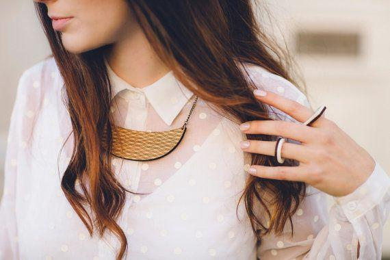 """This Australian designer draws on her background in environmental science to create eco-friendly, laser-cut jewelry from quality bamboo.For every order, <a href=""""https://www.etsy.com/shop/OneHappyLeaf?ref=l2-shopheader-name#about"""" target=""""_blank"""">One Happy Leaf</a>plants a tree on your behalf through the Foundation for the National Parks and Wildlife or the Nature Conservancy."""