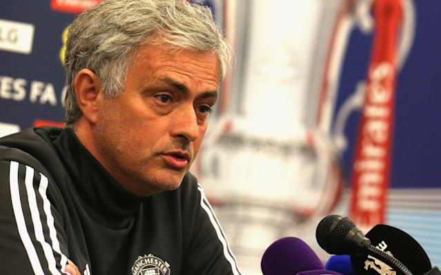 """Jose Mourinho has his shot at reaching a second FA Cup final of his long career at Wembley on Saturday although on a landmark day for English football it was hard for him to keep his thoughts straying from the challenge that awaits him next season at Manchester United. This semi-final sees him hunting his 21st major trophy and now, with Arsene Wenger's pending departure, Mourinho is the senior figure at the top of the table clubs, older than all the other four current managers of the big six excluding Arsenal. Perhaps it was the departure of an old rival but speaking at a London hotel ahead of the game at Wembley he was left wondering whether his new rival, Manchester City, could be caught at all next season. Mourinho was asked a general question about whether the consistency of his team could be improved after that comeback against City was followed by defeat at West Bromwich Albion and a performance somewhere in between at Bournemouth. He immediately responded with the question that it would depend on """"what the direct opponents do"""". """"One of the reasons related to your question - you don't win a title, is it a failure or not? - it depends on your opponents,"""" he said. """"I was champion in Spain [in 2012] with 100 points and Barcelona had 91 points. Was that a failure for Barcelona? I don't think it was, but the other guys had 100 points. """"In this Premier League, many clubs had positive seasons, like us, like Tottenham, like Liverpool. But it was impossible because City were really good and consistent and will reach a number of points that make it impossible for you … can you say the three [semi-final] teams who do not win the FA Cup are going to fail? It is too harsh. Praise the winner and we are going to try to be the one."""" Mourinho must get more out of his expensive signings next season Credit: GETTY IMAGES It was the follow-up to that which was telling. Would it be impossible to win the title next year if City repeat their dominance? """"If they get the same number of"""