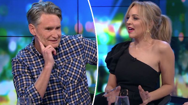 Dave Hughes Carrie Bickmore The Project