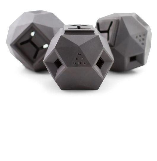 """<p><strong>UP DOG TOYS</strong></p><p>nordstrom.com</p><p><strong>$23.00</strong></p><p><a href=""""https://go.redirectingat.com?id=74968X1596630&url=https%3A%2F%2Fwww.nordstrom.com%2Fs%2Fup-dog-toys-the-odin-treat-dispenser%2F5758718&sref=https%3A%2F%2Fwww.redbookmag.com%2Flife%2Fg34750861%2Fgifts-for-dog-lovers%2F"""" rel=""""nofollow noopener"""" target=""""_blank"""" data-ylk=""""slk:Buy"""" class=""""link rapid-noclick-resp"""">Buy</a></p><p>As much as we'd like to spend 15 hours a day playing with the pup...we can't spend 15 hours a day playing with the pup. When the dog's human needs to get their human work done, this treat-dispensing toy will preoccupy the dog.</p>"""