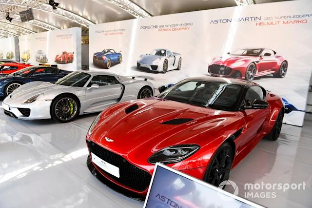 "El coche de Helmut Marko, Aston Martin DBS Superleggera <span class=""copyright"">Mark Sutton / Motorsport Images</span>"