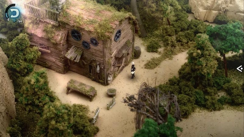 The dioramas used in 'Fantasian' elevate the graphics to a new level. — Picture courtesy of Mistwalker Corporation
