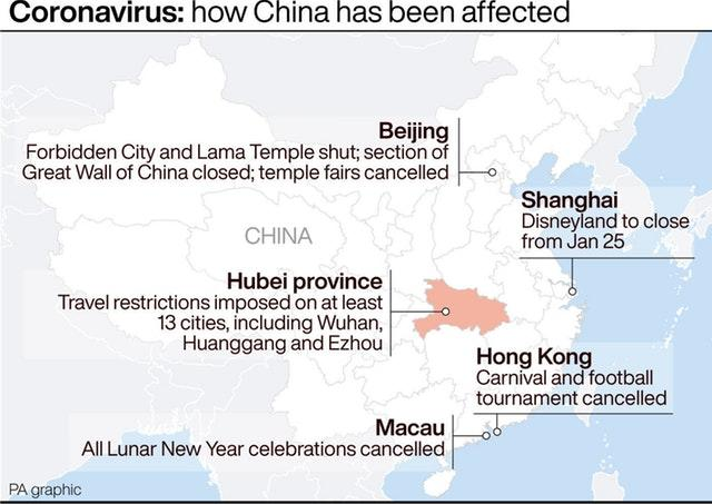 Coronavirus: how China has been affected
