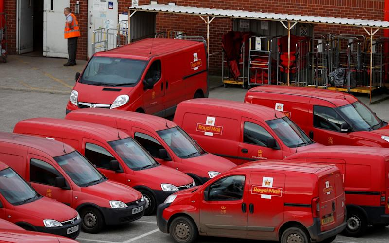Royal Mail last week won a High Court injunction blocking a planned 48-hour strike by postal staff - REUTERS