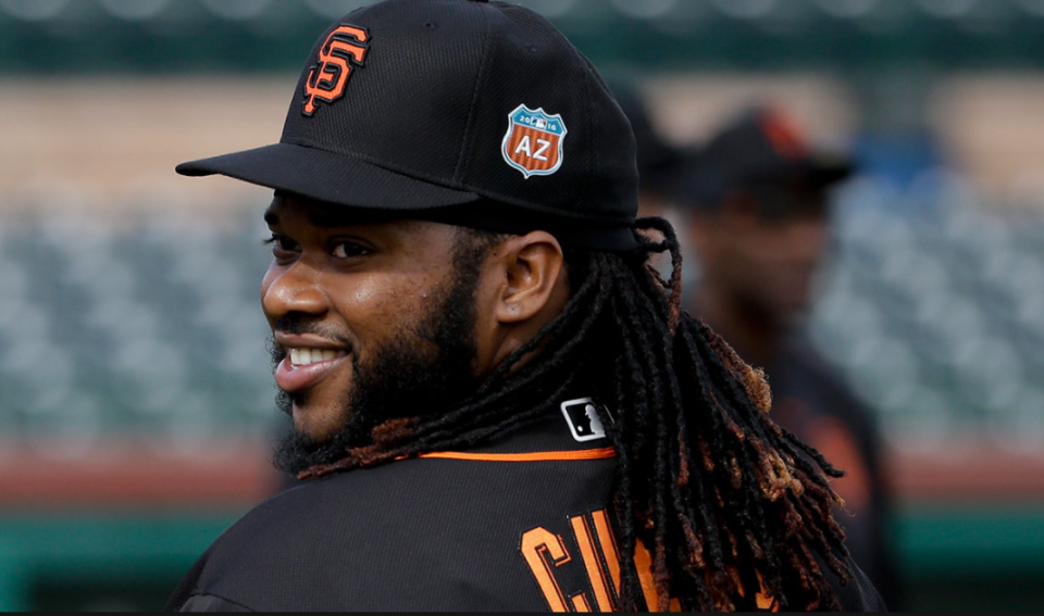 Johnny Cueto owners have reason to smile