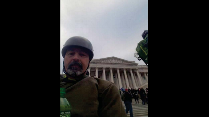 Matthew E. Loganbill, 55, of central Missouri, faces federal criminal charges related to the Jan. 6 riot in the U.S. Capitol.