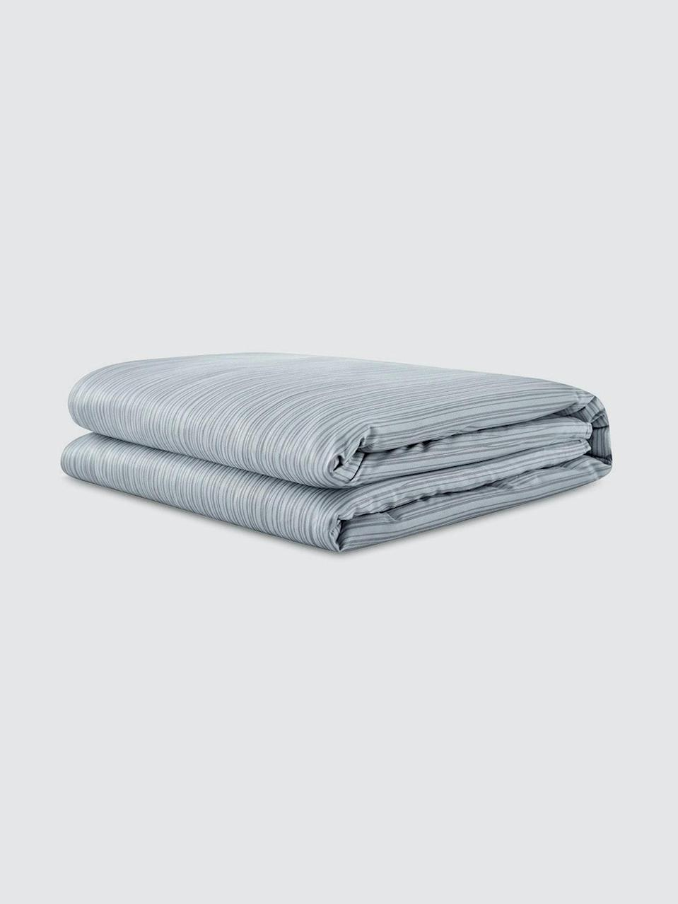 """<br><br><strong>Gravity</strong> Cotton Weighted Blanket, $, available at <a href=""""https://go.skimresources.com/?id=30283X879131&url=https%3A%2F%2Fshop-links.co%2F1735353107302370994"""" rel=""""nofollow noopener"""" target=""""_blank"""" data-ylk=""""slk:Verishop"""" class=""""link rapid-noclick-resp"""">Verishop</a>"""