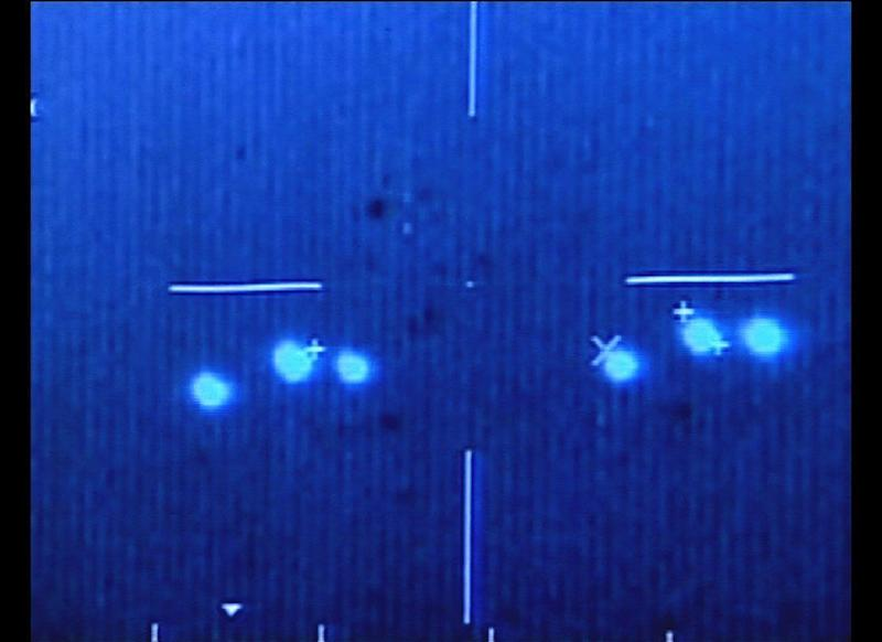 Mexican Air Force pilots filmed strange, brightly lit objects that moved quickly in the skies on March 5, 2004. Some scientists said the phenomenon could have been caused by gases in the atmosphere.