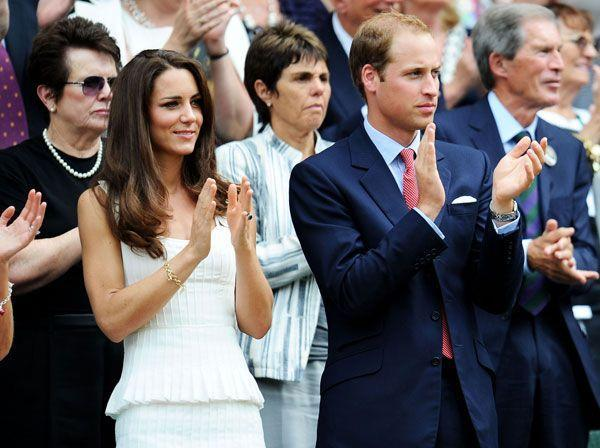 <p>What else should a girl wear to a tennis match at Wimbledon than Temperley London?</p>