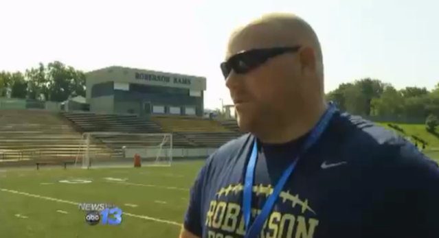 Roberson football coach Jim Beatty has been named in a lawsuit — YouTube