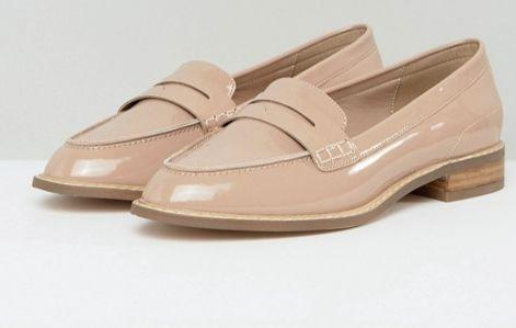 "<a href=""http://us.asos.com/asos/asos-munch-wide-fit-loafer-flat-shoes/prd/8520851?clr=nudepatent&SearchQuery=loafers+women&pgesize=36&pge=0&totalstyles=131&gridsize=3&gridrow=10&gridcolumn=2"" target=""_blank"">Shop them here</a>."