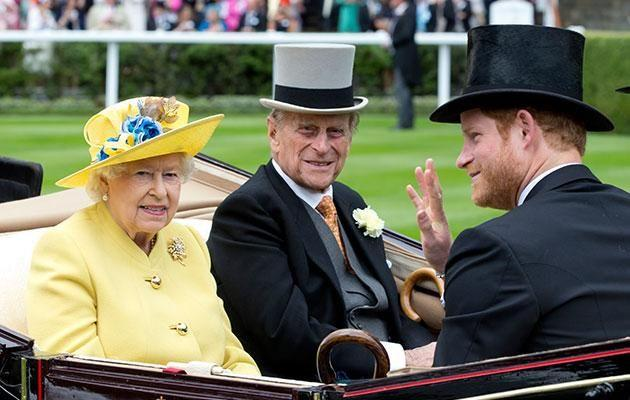 Harry is known for his close relationship to the Queen, who he affectionately calls 'Granny'. Photo: Getty
