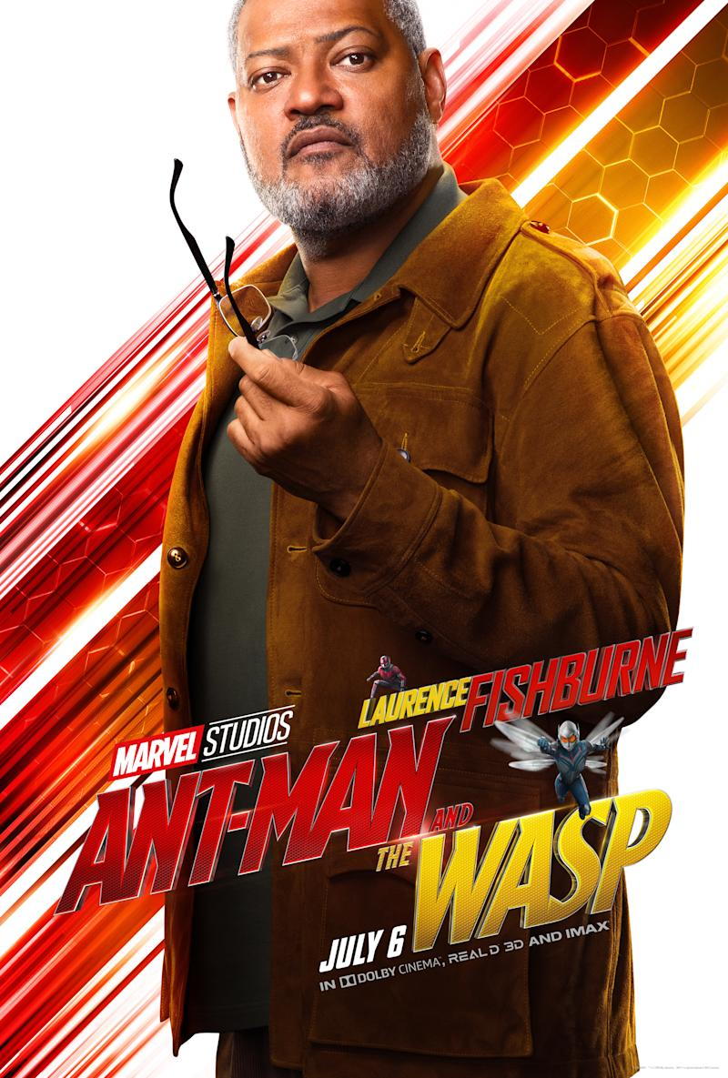 Laurence Fishburne in <i>Ant-Man and the Wasp</i>. (Image: Marvel)