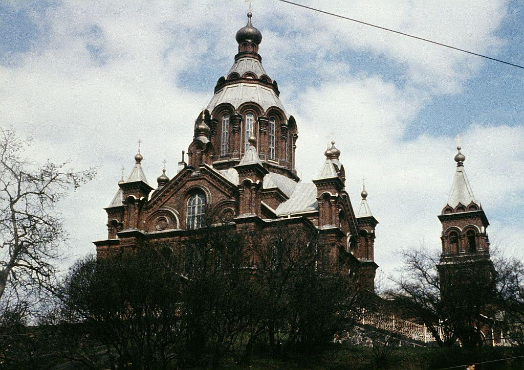 A 1965 file photo of Uspenski Cathedral, an Orthodox Church in Helsinki, Finland.