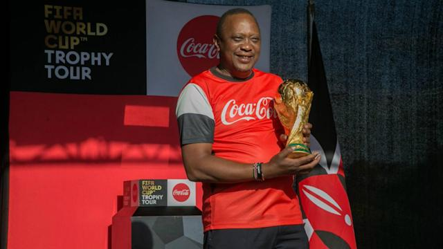 Kenya is among the ten African countries where local fans will have an opportunity to interact with the coveted trophy