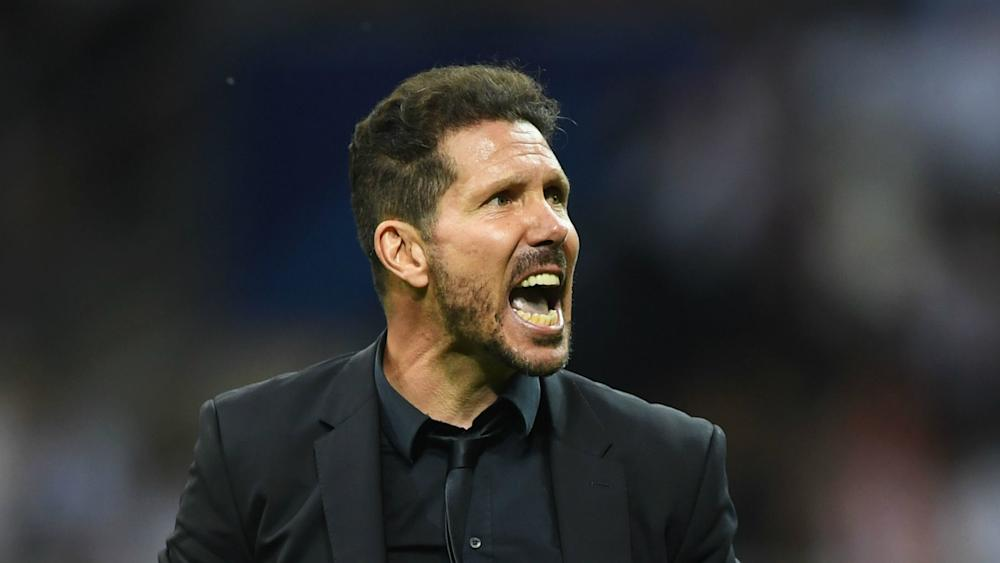 Diego Simeone Real Madrid v Atletico Madrid UEFA Champions League 28052016