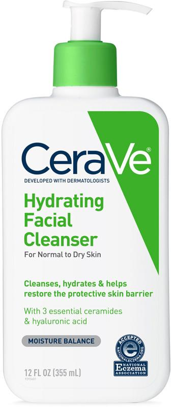 "<p><strong>CeraVe</strong></p><p>ulta.com</p><p><strong>$14.99</strong></p><p><a href=""https://go.redirectingat.com?id=74968X1596630&url=https%3A%2F%2Fwww.ulta.com%2Fhydrating-face-cleanser-face-wash-normal-dry-skin%3FproductId%3DxlsImpprod4190255&sref=http%3A%2F%2Fwww.redbookmag.com%2Fbeauty%2Fmakeup-skincare%2Fg26946124%2Fdry-skin-makeup-guide%2F"" target=""_blank"">Buy Now</a></p><p>If most face wash irritates your dry and sensitive skin, this gentle, basic cleanser is perfect for you. This non-foaming, anti-acne, gentle cleanser is perfect for morning or evening and contains hyaluronic acid, which helps keep skin hydrated. </p>"