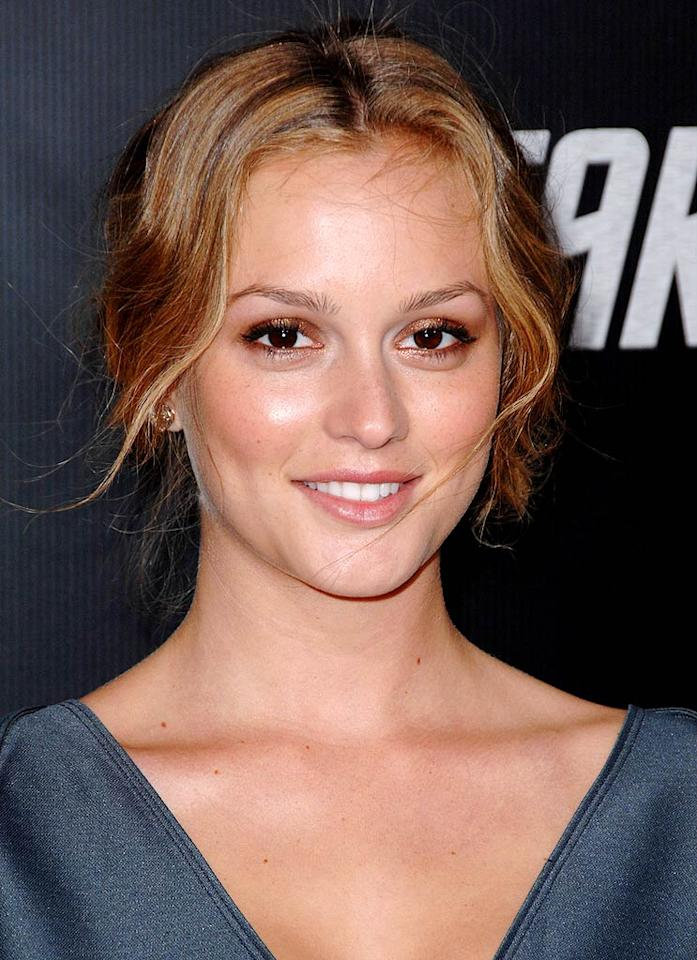 """23-year-old """"Gossip Girl"""" looker Leighton Meester has some of the best looking skin to ever grace the small screen. Steve Granitz/<a href=""""http://www.wireimage.com"""" target=""""new"""">WireImage.com</a> - April 30, 2009"""