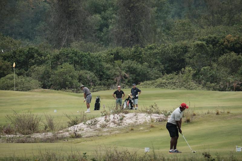 Brazil - Rio Olympic golf course eerily empty three months on