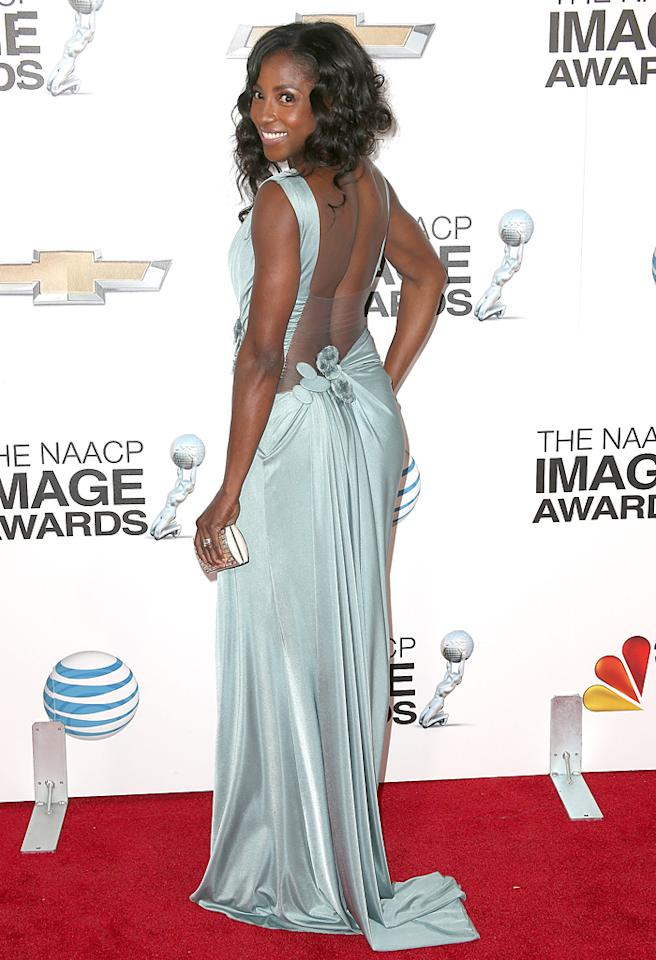 LOS ANGELES, CA - FEBRUARY 01:  Actress Rutina Wesley attends the 44th NAACP Image Awards at The Shrine Auditorium on February 1, 2013 in Los Angeles, California.  (Photo by Frederick M. Brown/Getty Images for NAACP Image Awards)