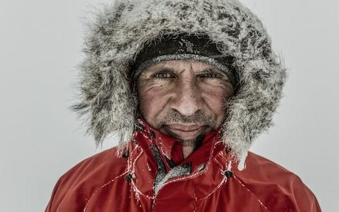 British Army Captain Louis Rudd, who has just completed a solo, unassisted trek across Antarctica. - Credit: RenŽ Koster Photography