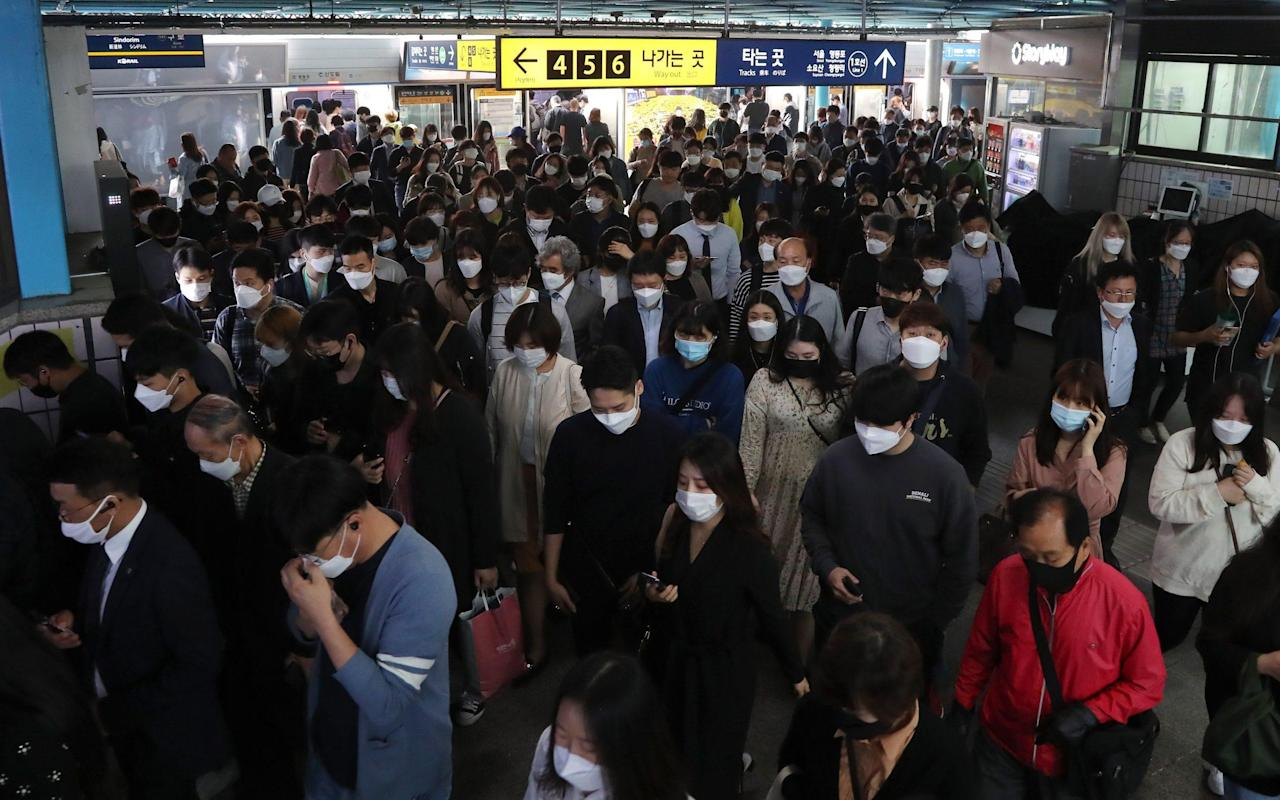 South Korea faces critical new coronavirus battle after sudden spike in cases