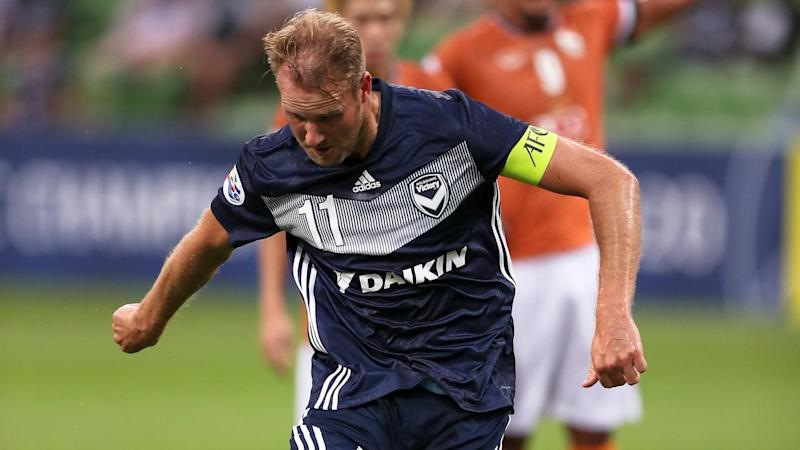 Ola Toivonen's penalty sealed Melbourne Victory's AFC Champions League win over Chiangrai United