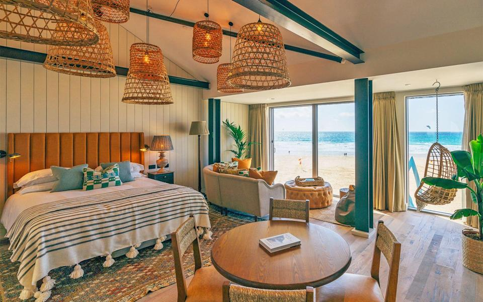 Watergate Bay - one of the best beach hotels in the UK