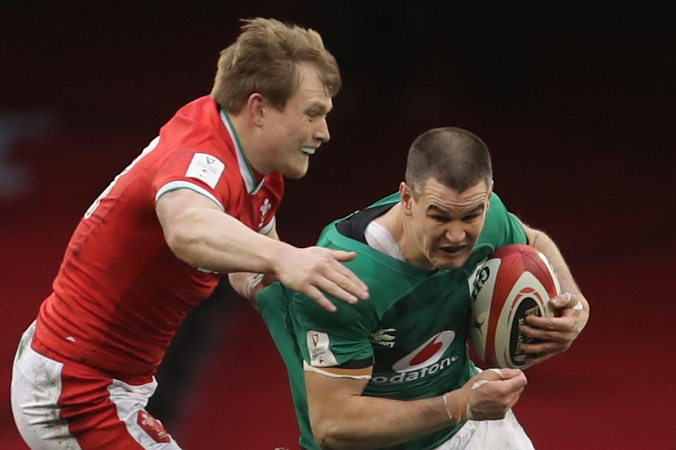 Johnny Sexton is back in the Ireland starting XV to face Italy in RomeAFP via Getty Images