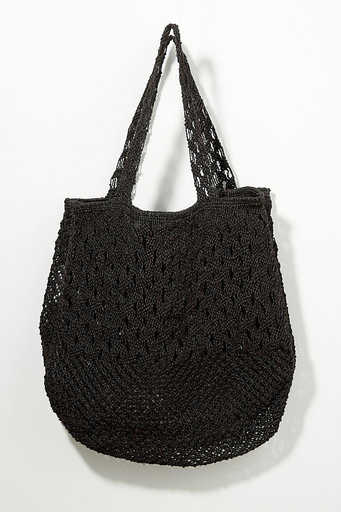 The Jacksons Marion Jute Tote Bag (Anthropologie)