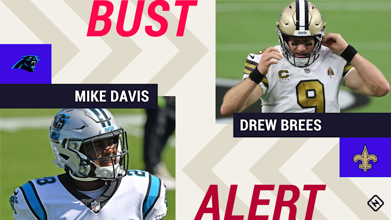 Week 3 Fantasy Busts: Mike Davis, Drew Brees among risky starts in tough matchups