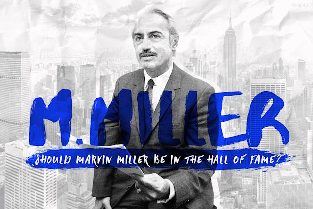 Let's take a look at Marvin Miller's case for the Hall of Fame. (Amber Matsumoto/Yahoo Sports)