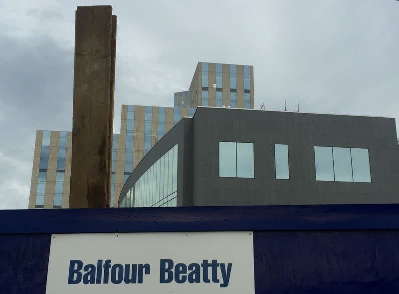 Balfour Beatty sees slightly higher annual profits, raises cash forecast
