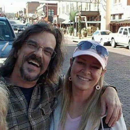 Kurt Cochran, 54, of Utah, who was killed in the Westminster terror attack, pictured with his wife Melissa Payne Cochran