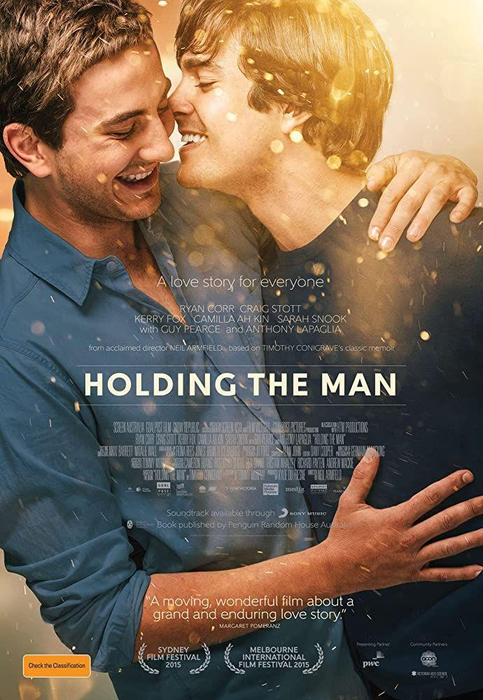 """<p>This Australian romance film follows Tim and John's epic love story from high schoolers over the next 15 years of their life. They encounter a number of struggles along the way, some insurmountable, but their love is the one constant. The movie is based on Timothy Conigrave's <a href=""""https://www.abc.net.au/news/2015-09-29/holding-the-man-john-caleos-mother-tells-of-her-private-grief/6813266"""" rel=""""nofollow noopener"""" target=""""_blank"""" data-ylk=""""slk:memoir of the same name"""" class=""""link rapid-noclick-resp"""">memoir of the same name</a>.</p>"""