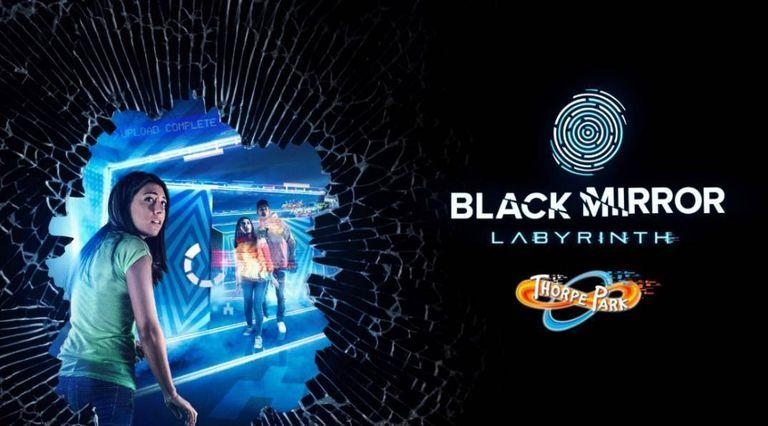 The Black Mirror labyrinth (Credit: Thorpe Park)