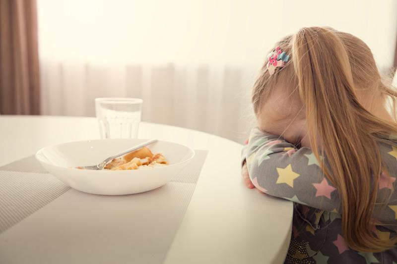 The fussiest eaters were found to be those whose parents were strict with food. (Getty Images)