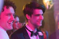 """<p>A teen boy thinks he's got his love life all figured out, but that all goes out the window when he meets a handsome, intriguing stranger at a party. </p> <p>Watch <a href=""""http://www.netflix.com/title/80168189"""" class=""""link rapid-noclick-resp"""" rel=""""nofollow noopener"""" target=""""_blank"""" data-ylk=""""slk:Alex Strangelove""""><strong>Alex Strangelove</strong></a> on Netflix now.</p>"""
