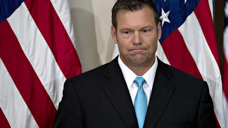 Kris Kobach Gets His Turn To Defend Kansas Proof Of Citizenship Law. It's Not Going Well.