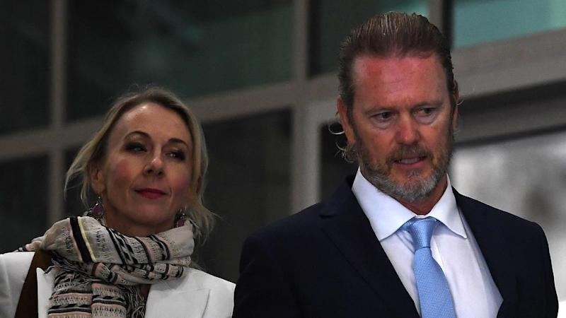 Craig McLachlan is accused of threatening a woman after she confronted him about an unscripted kiss